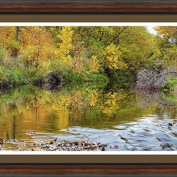 A Time For Reflections Framed Print
