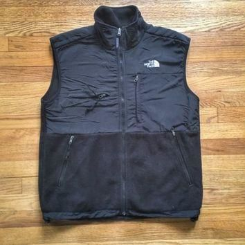 Mens Vintage North Face Denali Fleece Jacket Vest - M