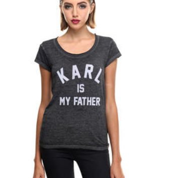 DJPremium.com - Women - Shop by Department - Tops - FARLADEL W -IS MY FATHER BURN OUT TEE