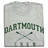 Dartmouth Crew t-shirts, Crew t-shirt with college logo-Dartmouth Coop