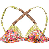 Maaji Sugar Rush Reversible Bikini Top - Women's Yellow,