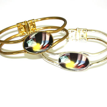 Wizard Of OZ Dorothy's Shoes Bangle