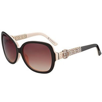 Givenchy Square Diamond Logo Beige Sunglasses 307828