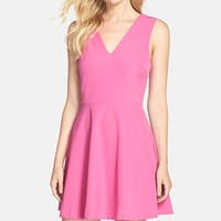 Women's FELICITY & COCO Back Cutout Fit & Flare Dress (Nordstrom Exclusive)