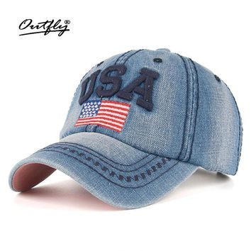 usa cap Popular cotton Baseball Cap Snapback cowboy American flag Hat Adjustable men woman Girls Boys Sun cowboy Cap b011