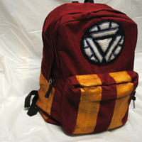 Avengers Iron Man Minimalist Backpack by DayByRandomDay on Etsy