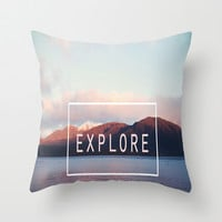 Explore. New Zealand Throw Pillow by secretgardenphotography [Nicola]