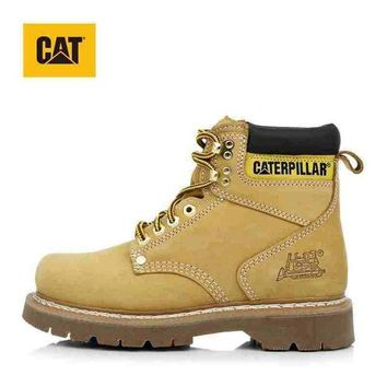 LMFNO CAT classic Color Yellow Men Women Sneakers Boots