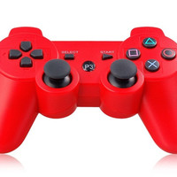 Six-Axis DualShock Wireless Controller for PlayStation 3 (Red)