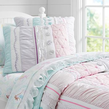 Bailey Ruffle Quilted Bedding