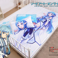 New Asuna - Sword Art Online Japanese Anime Bed Blanket or Duvet Cover with Pillow Covers Blanket 15