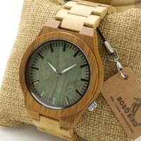 Light Wood Watch