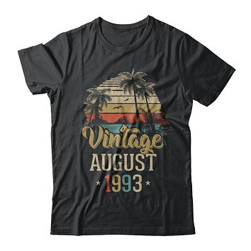 Retro Classic Vintage August 1993 25Th Birthday Gift
