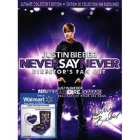 Justin Bieber: Never Say Never - Director's Fan Cut (Ultimate Collector's Edition) (2-Disc) (Exclusive) at Walmart.ca