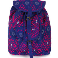 Diamond Jacquard Backpack - Bags & Wallets - Bags & Accessories - Topshop USA