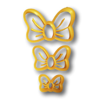 Lovely Bow Cookie Cutter - Choose Your Size