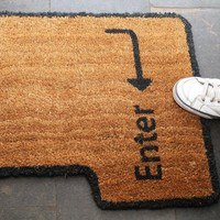 Enter Key Doormat