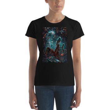 Eagle Nebula Outer Space Stars Premium Women's T-Shirt