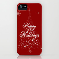 Happy Holidays iPhone & iPod Case by Brandy Coleman Ford