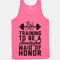 Training To Be A Bootyful Maid Of Honor