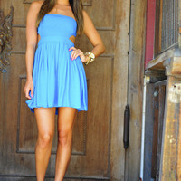 It's Meant To Be Dress: Caribbean Blue | Hope's