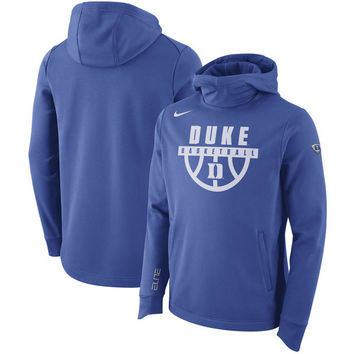 Duke Blue Devils Nike Elite Performance Pullover Hoodie - Royal