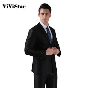 (Jackets+Pants) Men's Slim Fit Tuxedo Suits