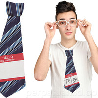 HELLO MY NAME IS STICKY TIE