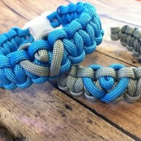 His and Hers Paracord Bracelets
