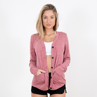 Red Callie Cardi | Disruptive Youth