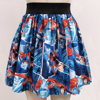 Superman Arctic Ice Full Skirt