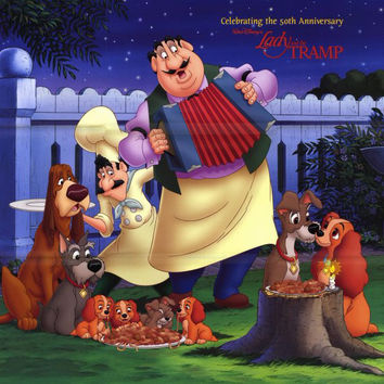 Lady and the Tramp II 11x14 Movie Poster (2001)