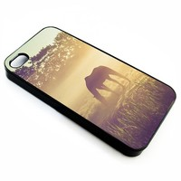 Misty Morning on The Dutch Field | iPhone 4/4s 5 5s 5c 6 6+ Case | Samsung Galaxy s3 s4 s5 s6 Case |