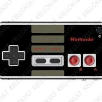 iPhone 4 Retro Nintendo Controller Skin by kellokult on Etsy