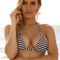 Montce Swim Striped Euro Top