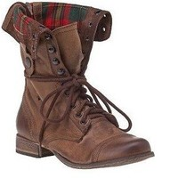Steve Madden Combat Boots (size 8 1/2)