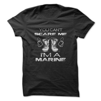 Can't Scare A Marine