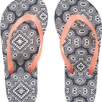 Old Navy Girls Patterned Flip Flops