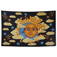 Sun Moon & Clouds Tapestry -- Mexicali Blues