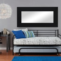 DHP Separate Trundle for DHP Metal Daybed Frame, Black
