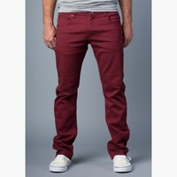 {True Grit} Relaxed Slim Jeans in Sonoma Red