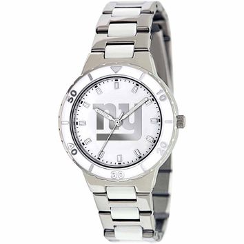 Game Time NFL Women's New York Giants Pearl Series Watch