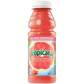 Tropicana Juice, Ruby Red Grapefruit, 15.2 Fl Oz - Walmart.com