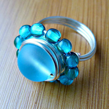 The Ocean is Calling, Wire Wrapped Ring