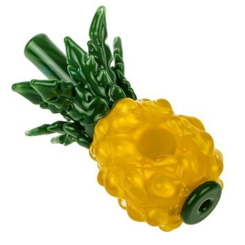 GlassHeads Pineapple Spoon Pipe | Grasscity