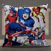 The Avengers  All Superhero Marvel pillow case, pillow cover, cute and awesome pillow covers