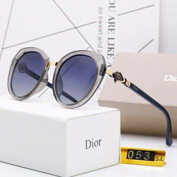 DIOR Fashionable Women Cute Sun Shades Eyeglasses Glasses Sunglasses 2#