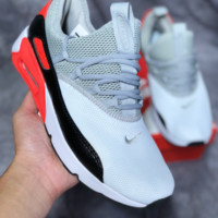 KUYOU N453 Nike Air Max 90 EZ Mesh Sneakers Grey Black Red