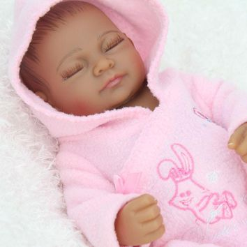 African American Realistic Life Like Baby Doll Black Girl