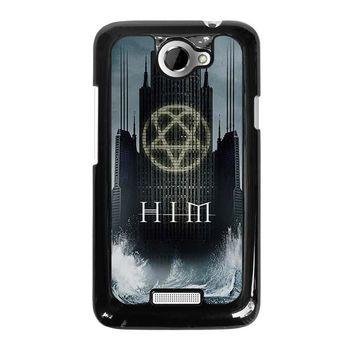 HIM BAND HEARTAGRAM HTC One X Case Cover